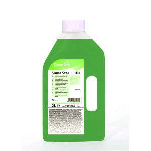 Suma Star D1 - Detergent lichid concentrat manual pentru vase profesional 2L