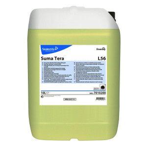 Suma Tera L56 -  Detergent lichid automat, concentrat pentru vase potrivit pentru apa moderata si dura 20L