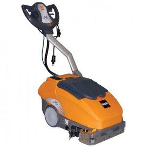 Maşină profesionala automată compactă, pentru spălarea şi uscarea pardoselilor, cu acumulatori, cu încărcător extern TASKI Swingo 350 B