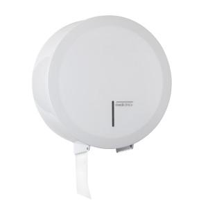 Dispenser de hârtie igienică rolă Jumbo maxim 400m,  otel alb