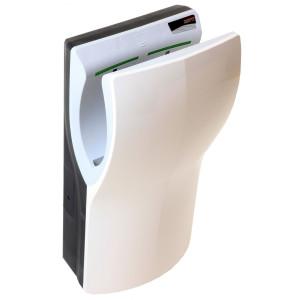 Uscator de maini DUALFLOW PLUS cu filtru Hepa, antibacterian, complet automat, vertical, alb