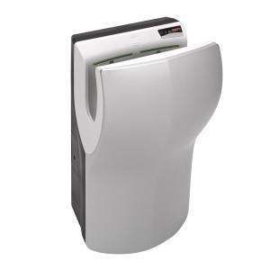 Uscator de maini DUALFLOW PLUS cu filtru Hepa, antibacterian,  complet automat, vertical, gri