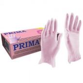 Manusi examinare nitril nepudrate roz S